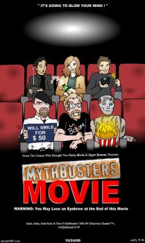 Mythbusters Movie by wolfjedisamuel
