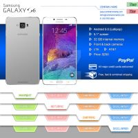 Samsung S6 - eBay page by Chaoticpoison