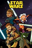 Star Wars Clone Wars by DatBoiDrew