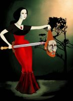 Judith and Holofernes by ardentfem