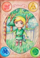 LoZ: Walk in the Forest by Tajii-chan