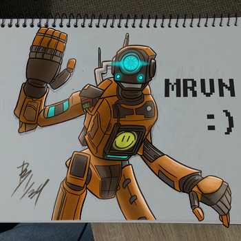 Titanfall 2 - Marvin by TheMostSafestPublic