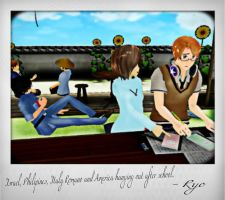 Hetalia After School Hang Out by cam0001