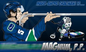 Canucks MAGnum, P.P. by Bleezer