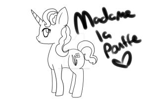 Madame La Pouffe by Mdragonflame