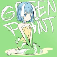 Green Paint by inma