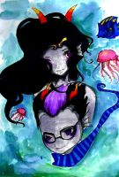 Under Water Love by TravelersDaughter