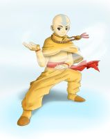 Fully Realized Aang by PsyFULL