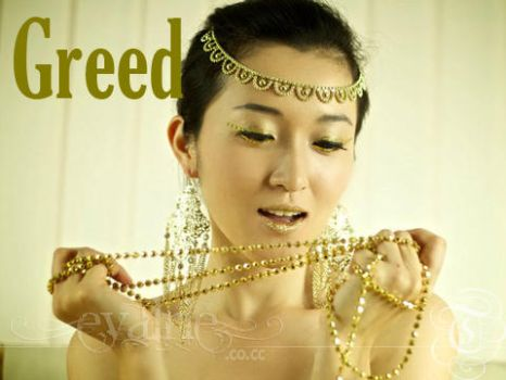 7 Deadly Sins: Greed by Evalrie