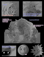 Meeting The Werehog pg.23 by Mitzy-Chan