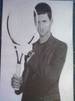 Novak Djokovic part3    A2 size by Shadowcat1992
