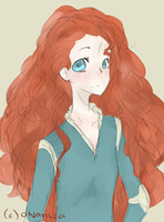 Brave.Merida by oNarissa