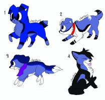 Puppy adopts!!! -Open- by N1GHTWOLFXD