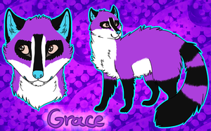 Grace Feral Ref by AquatheOhioKitty