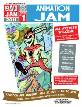 CAM-JAM Animation jam 5-22-11 by Atomic-Bear