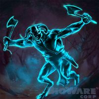 Age of Champions Minotaur Ghost by anotherdamian