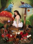 Pretty Little Alice In Wonderland 3 by ThePrincessNightmare