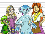 Who is the tallest Zelda girl by theEyZmaster