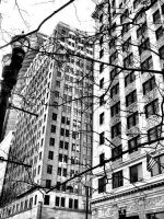 Downtown buildings 01 by AnimaSoucoyant