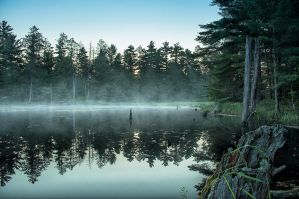 Morning Lake whispers by Jack-Nobre