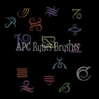 APC Runes Brushes by darksideup