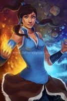 Legend of Korra by daniellesylvan