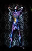 Painted Boy 2 Full Frontal by capraboia