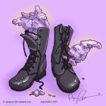 Leather and Lilacs by Annerea