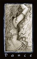 Belly Dance - Pencil work by MisticUnicorn