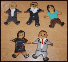 NCIS gingerbread men by lubyelfears
