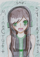 Minecraft Avatar by SyllArtemis