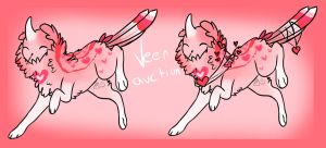 //Auction CLOSED/ Valentines Veer + AB ADDED / 24H by Girryy