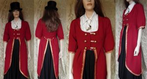 Victorian inspired tailcoat by JanuaryGuest