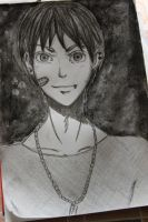 A guy who look likes Eren,but he isn't Eren by RukiaFanGirl