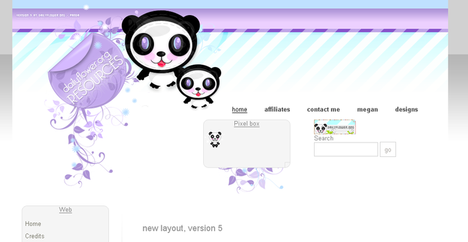 pandaaa by creativesplash