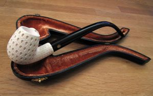 Meerschaum Pipe by JackTheLateRiser