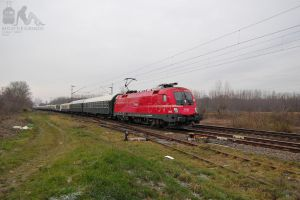 1116 003 with special train near Gyor by morpheus880223