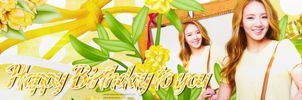 [CoverZing] Hyoyeon Kim - Happy Birthday To You by lapep999