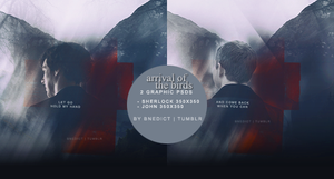 sherlock and john graphic PSD pack by cheesepuffster