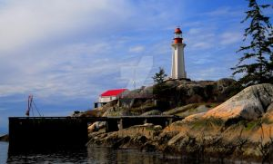 Point Atkinson Lighthouse by Digibug