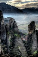 Meteora Detail by Piddling