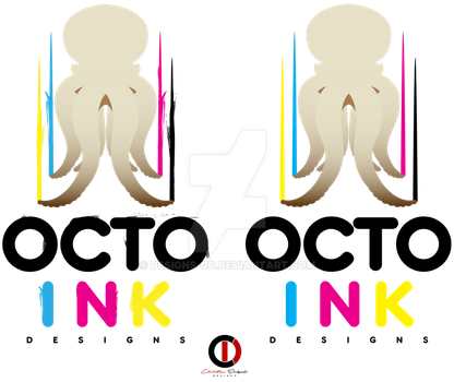 OctoInk Logo by Designs-CD