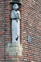 corner statue by priesteres-stock
