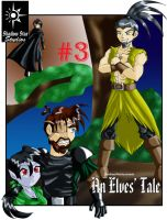An Elves' Tale - Cover 3 by GhostHead-Nebula