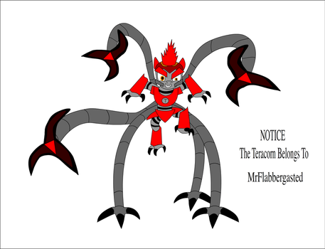 My Drawing Of The Teracorn by Zacharygoblin55