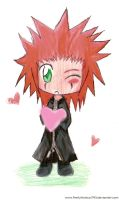 .Chibi Axel. by Monii--Chan