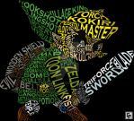 Toon Link Typography by calfrills