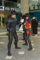 Nightwing and Robin by Stormfalcon