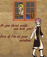 Do you think walls can hide you? by Victoria-Firewriath