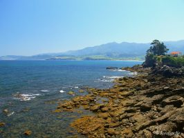 Asturias, looking to the right by Jorapache